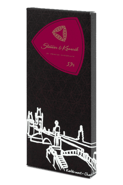 steiner&kovarik Edle Zartbitterschokolade von Hand hergestellt mit kanadischen Cranberries. Ein echter Schokoladengenuss