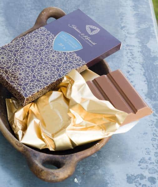 Tafel Milchschokolade mit Naturvanille 35% (240g)