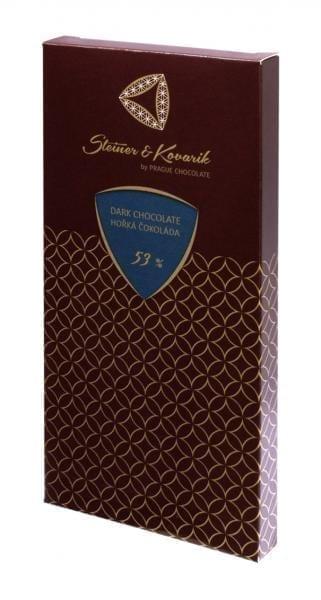 Tafel Zartbitterschokolade 240g mit Naturvanille - Hochwertige in Handarbeit hergestellte edle zartbitterschokolade steiner&kovarik