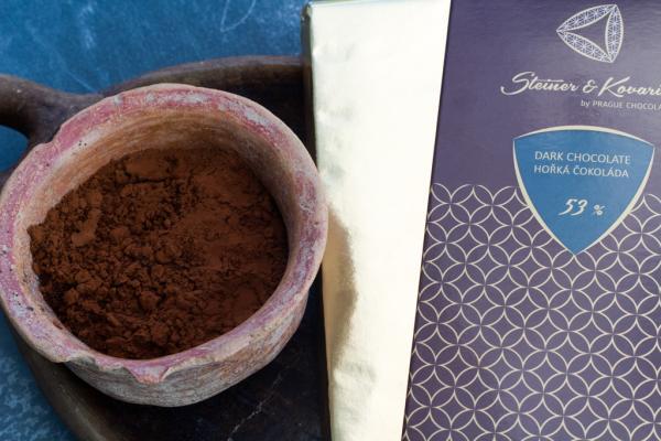 Tafel Zartbitterschokolade mit Naturvanille 53% (240g)