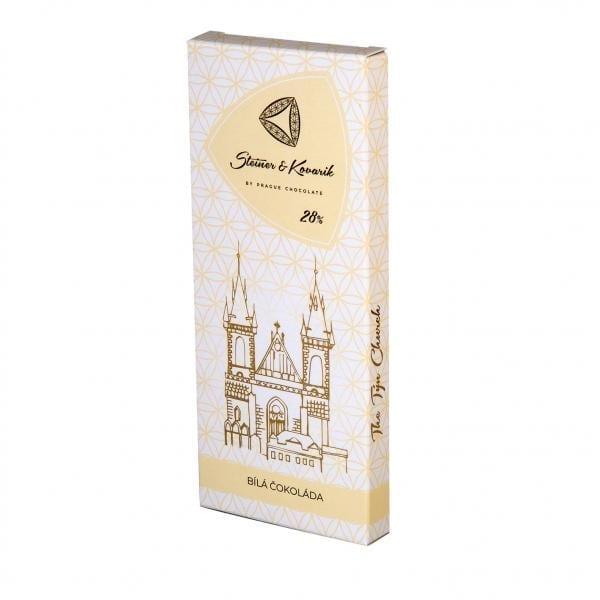 Tafel feincremige weiße Schokolade mit natur Vanille. Von Hand hergestellt. Für unsere Schokoladen Steiner&Kovarik verwenden wir nur hoch qualitative Zutaten.