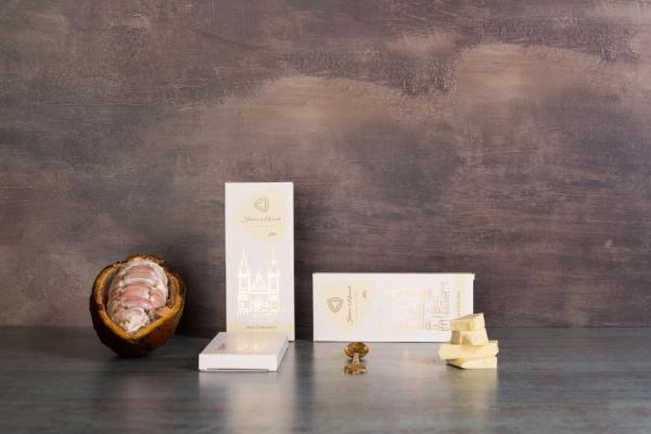 Tafel weiße Schokolade (50g)
