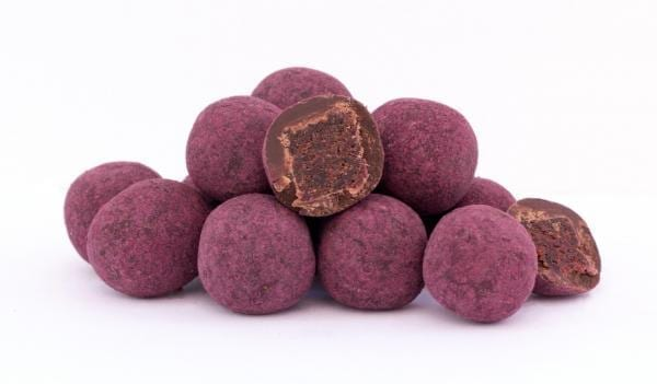 Acai in Zartbitterschokolade und Acaipulver (150g)