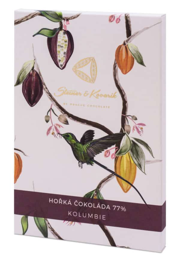 Steiner&Kovarik Aluna 77% Bean to bar Schokolade Kolumbien Columbien Kokoszucker Kolibri sorgfältig ausgewählten Kakaobohnen Tafelschokolade einzigartig Geschmack reichhaltig an Mineralien Triumph