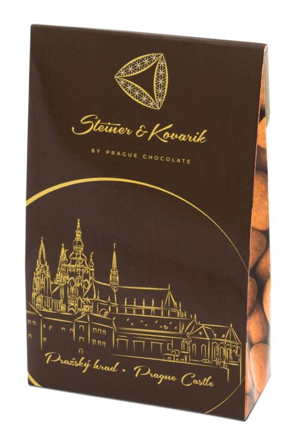 Steiner&Kovarik Mandeln Zartbitterschokolade Ceylon Zimt Kakao Handarbeit Genuss ausgezeichnet mit dem Great Taste Awards