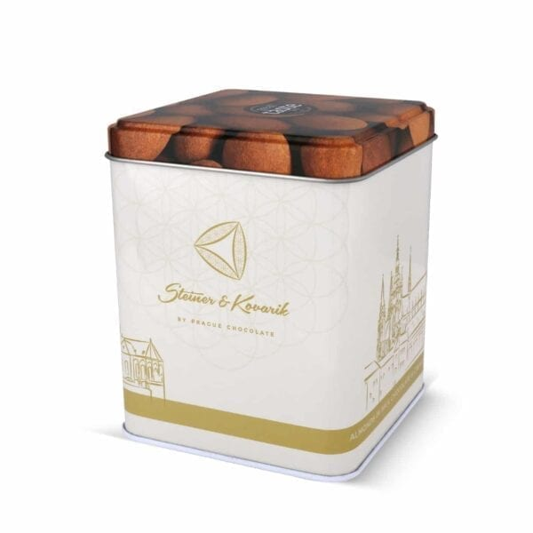 Mandeln in Milchschokolade und Ceylon-Zimt 200 gr. - Hochwertige in Handarbeit hergestellte edle Milchschokolade - Himmlische Schokolade ein Genuss für die Sinne, mehrmals ausgezeichnet mit dem Great Taste Awards