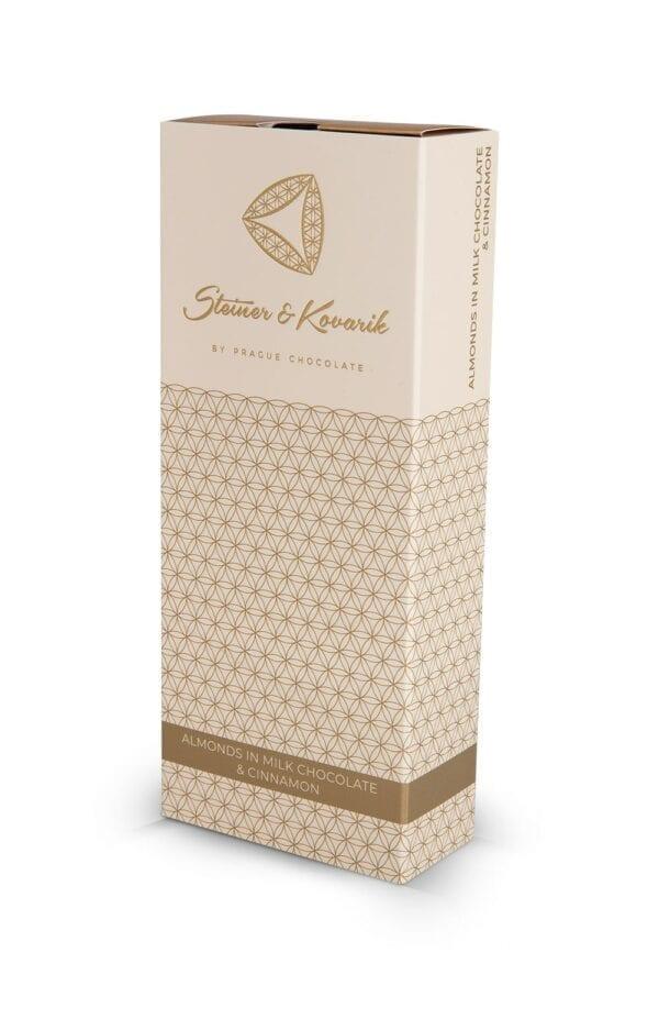 Steiner&Kovarik Mandeln Milchschokolade Ceylon Zimt Great Taste Awards